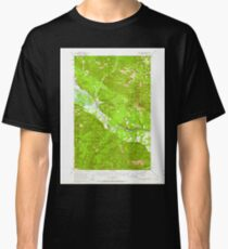 USGS TOPO Map Idaho ID Clark Fork 238981 1951 62500 Classic T-Shirt