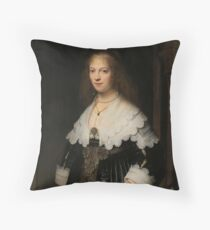 Renaissance Art, Rembrand Throw Pillow