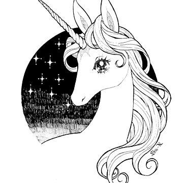 The Last Unicorn by Shiro-N