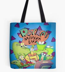 Rocko's Modern Family Tote Bag