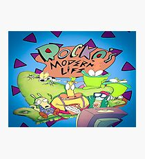 Rocko's Modern Family Photographic Print