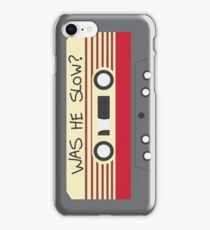 Was He Slow? (Baby Driver) iPhone Case/Skin
