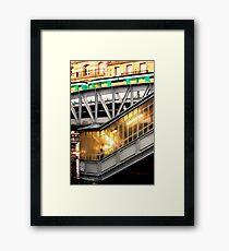 Paris Metro Framed Print