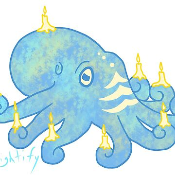 Channukkah Octopus by starlightify