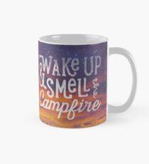 wake up & smell the campfire Mug