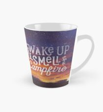 wake up & smell the campfire Tall Mug