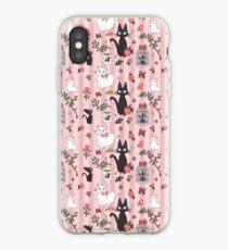 Jiji Cat Pattern iPhone Case
