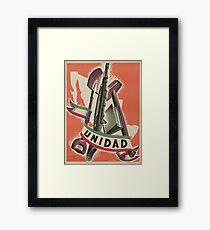 UNIDAD - Progressive Unity! Framed Print