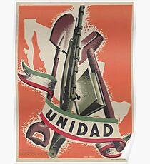 UNIDAD - Progressive Unity! Poster
