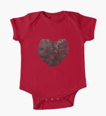 Heart Graphic 4 One Piece - Short Sleeve