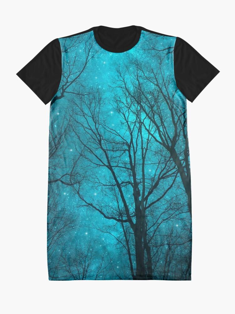 Alternative Ansicht von Sterne können nicht ohne Dunkelheit leuchten T-Shirt Kleid