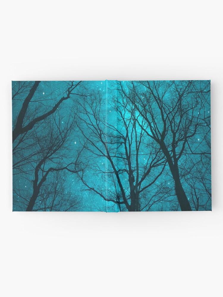 Alternative Ansicht von Sterne können nicht ohne Dunkelheit leuchten Notizbuch