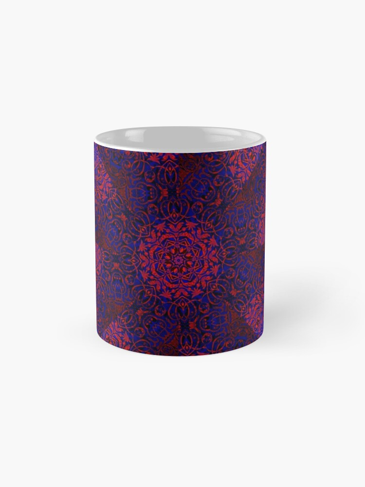 Alternate view of magic mandala 37 #mandala #magic #decor Standard Mug