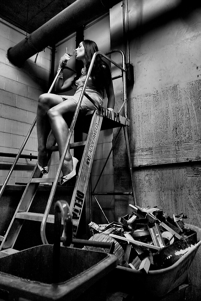 Elegantly Wasted - The Forgotten Staircase by Paul Louis Villani