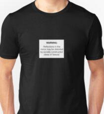 Warning: Socially Constructed Beauty T-Shirt