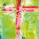Color Cross by Eva Crawford