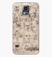 Grimm - Wesen Case/Skin for Samsung Galaxy
