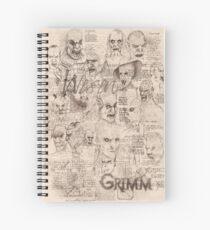 Cuaderno de espiral Grimm - Wesen