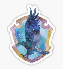 Raven Badge School House Sticker