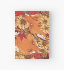 Cuaderno de tapa dura Autumn Fox Bloom