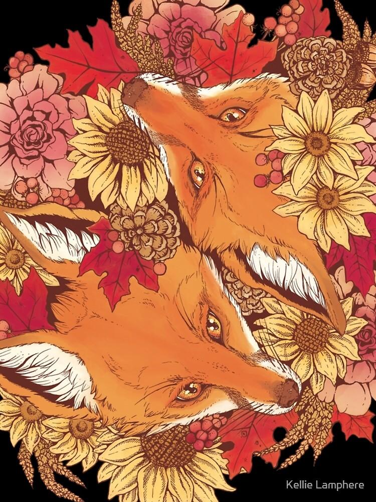 Autumn Fox Bloom by plaguedog