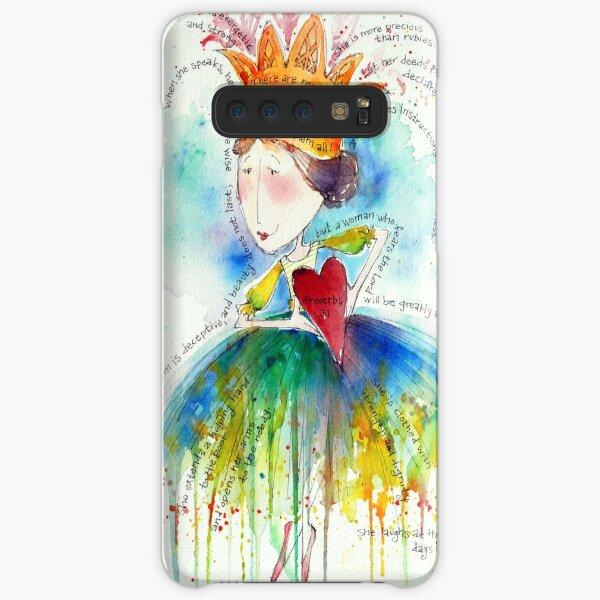Proverbs 31 Woman Samsung Galaxy Snap Case