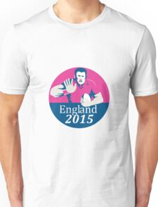 Rugby Player Fending England 2015 Circle Unisex T-Shirt