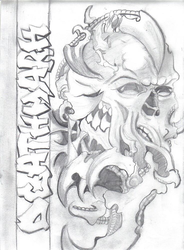 skull design by kstop08
