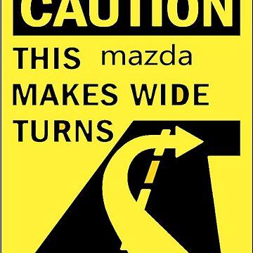 mazda Drift by theUnwise