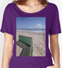 Beach Fence Women's Relaxed Fit T-Shirt