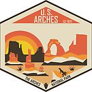 Arches Nationalpark von moosewop