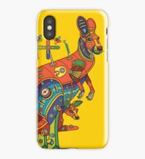 Kangaroo, from the AlphaPod collection iPhone Case
