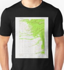 USGS TOPO Map Idaho ID Clawson 235705 1965 24000 Unisex T-Shirt