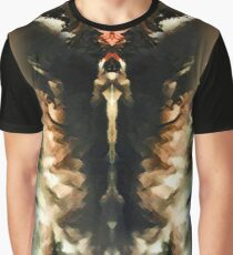 Lion on Fire Graphic T-Shirt