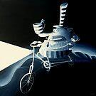 The night cyclistThe night cyclistThThThThe night cyclistThe night cyclist by Neil Elliott