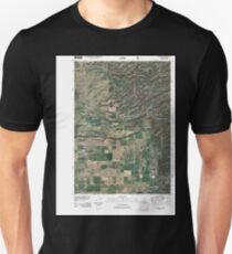 USGS TOPO Map Idaho ID Clawson 20110107 TM Unisex T-Shirt