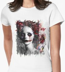 Harley Quinns valentines day Women's Fitted T-Shirt