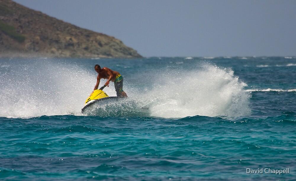 Caribbean Jet Ski 2 by David Chappell