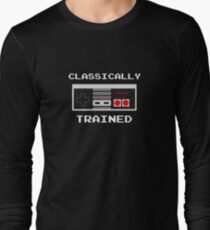 Classically Trained - Nintendo Games Gamer Video Games Nerd Geek Play Station T-Shirt