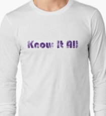 Know It All Vintage Long Sleeve T-Shirt