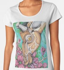 Long Necked Love  Women's Premium T-Shirt