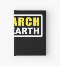RESEARCH FLAT EARTH (1st Billboard graphics) Hardcover Journal