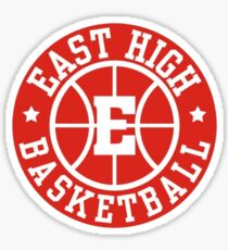 East High Basketball Logo Sticker