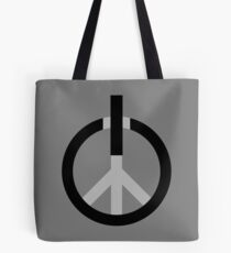 Peace Power: Press ON! Tote Bag