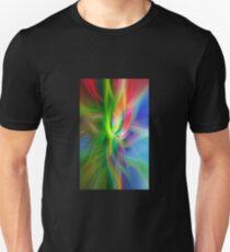 Color Fibers Vertical Unisex T-Shirt