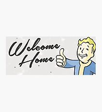 Welcome Home - Vintage Styling  Photographic Print