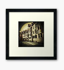 Streetscape Framed Print