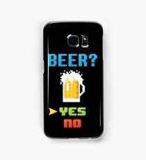 Choose Beer! Video Game Edition Samsung Galaxy Case/Skin