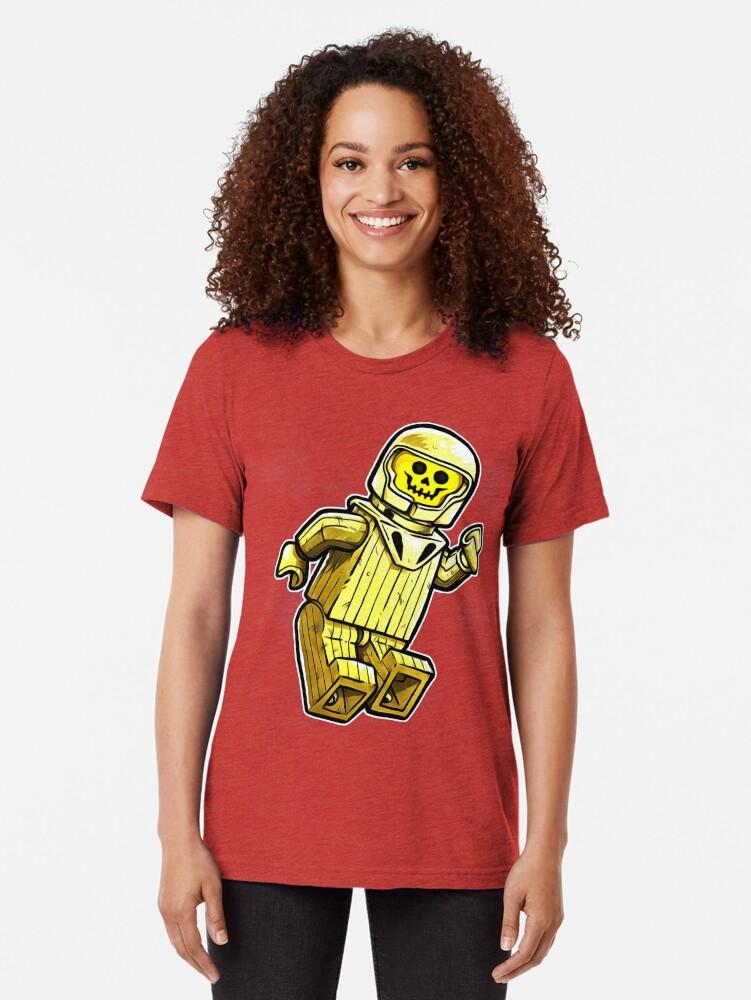 Alternative Ansicht von gelber Benny Vintage T-Shirt