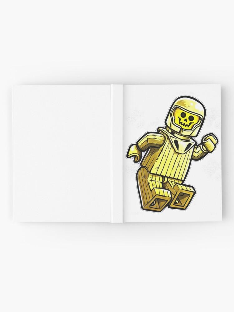 Alternative Ansicht von gelber Benny Notizbuch
